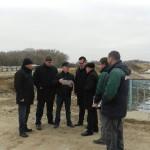 На объекте строительства канала