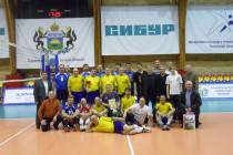 Состоялся V традиционный турнир ветеранов волейбола памяти  Пахомчика Виталия Тимофеевича