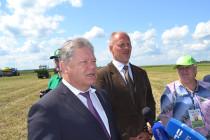 Петр Чекмарев и Даниил Путятин  видят в мелиорации основу повышения урожайности полей России