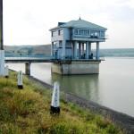 Головное сооружение плотины Отказненского водохранилища