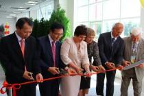 Открытие первой в России теплицы корейского производства