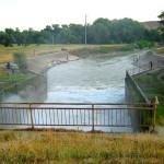 Отводящий канал сбросного сооружения Отказненского водохрани
