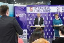 Депутат Тюменской областной Думы Николай Бабин принял участие в дебатах участников предварительного внутрипартийного голосования