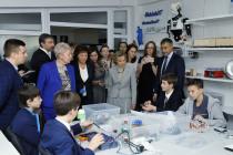 С официальным визитом в Тюмени прибыла министр образования и науки Российской Федерации Ольга Васильева.