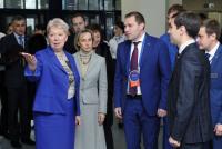 Министр Ольга Васильева посетила Тюменский индустриальный университет