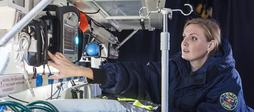 Более 3000 пациентов перевезено санитарными вертолетами «ЮТэйр» в 2017 году