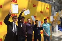 Компания 3М наградила участников творческих конкурсов «Дыши легко» и «Лучший сварщик», которые проходили на предприятиях ГМК «Норильский никель»
