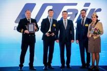 «ЮТэйр-Вертолетные услуги» получила главную премию в авиации