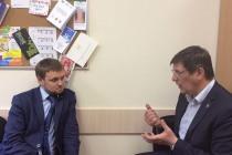 Федор Попов и Филипп Воронин обсудили работу общественников в сфере труда и занятости в Тюмени