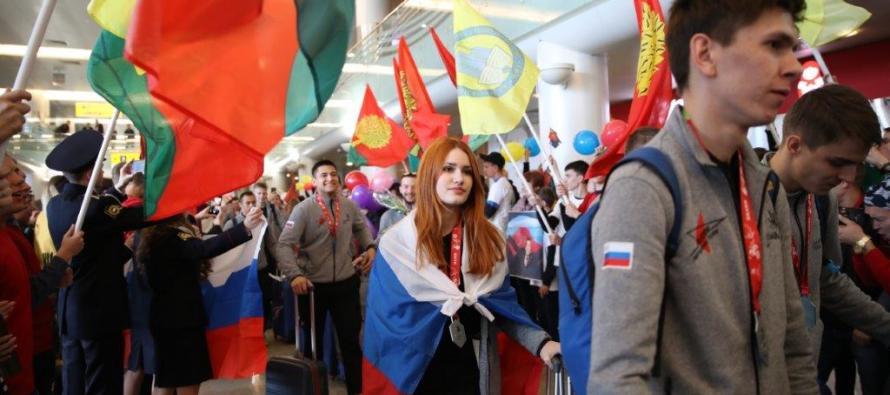 Вице-премьер Татьяна Голикова поздравила российскую сборную с победой на чемпионате EuroSkills 2018