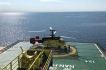 «ЮТэйр» эвакуировал пациента с буровой платформы в Карском море
