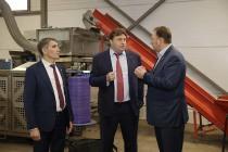 Генеральный директор АО «Росагролизинг» Павел Косов совершил рабочую поездку в Тульскую область