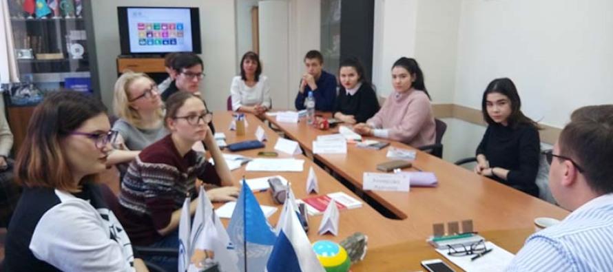 Тюменские студенты прошли стажировку в Штаб-квартире Урало-Сибирской Федерации АЦК ЮНЕСКО