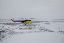 Экипаж Ми-8 успешно провел поисково-спасательную операцию в тайге