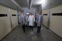 Руководитель агрохолдинга «Равис» показал федеральному министру возможности компании