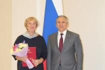 Почетной грамотой губернатора Тюменской области отмечен главный специалист департамента труда и занятости населения Тюменской области