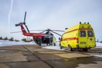 Компания «ЮТэйр – Вертолетные услуги» выполняет дежурства  по санитарным заданиям в Омской области