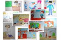 В Голышманово дети нарисовали профессии своих бабушек и дедушек