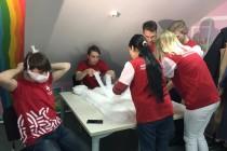 Тюменской области открылся волонтерский штаб для помощи пожилым людям, находящимся на карантине из — за распространения коронавируса