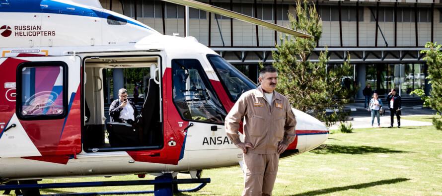 Авиакомпания «Русские Вертолетные Системы» и «Авиакапитал-Сервис» подписали контракт на аренду вертолетов Ансат