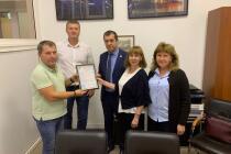 Ростовским филиалом ФГБУ «Центр оценки качества зерна» выдан первый сертификат соответствия, подтверждающий соответствие отгрузочных площадок