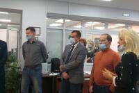 Заместитель Руководителя Россельхознадзора Антон Кармазин посетил Алтайский филиал ФГБУ «Центр оценки качества зерна»